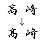賞状に使う漢字(固有名詞)