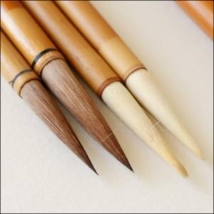 賞状筆耕に用いる筆の種類